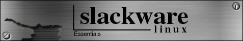 metallic slackware banner